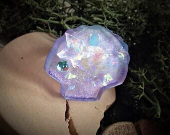Seashell Mermaid ring
