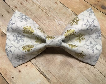 SALE** Let It Snow // Holiday Pet Bow Tie