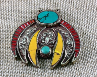Colourful pendant from Central Asia--4450