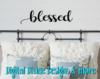 Blessed Vinyl Wall Decal