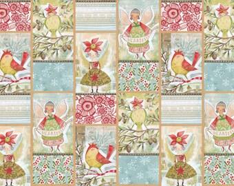 "Merry Stitches - Little World of Wonder 24"" Panel"