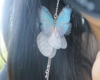 Butterfly butterfly Butterfly hook 925 Silver Wire Earrings