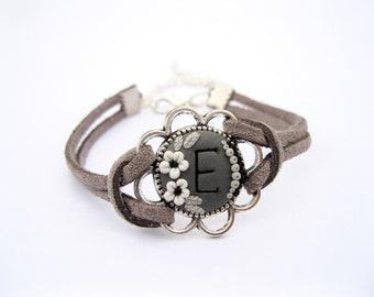 Personalized bracelet for girls personalized jewelry for women custom bracelet for girlfriend initial bracelet for women monogram bracelet
