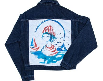 Biggdesign AnemosS Sailor Girl Jeans Jacket