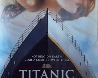 Titanic 27x39 Style A Movie Poster 1997 James Cameron