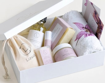 Spa Gift for Mom Gift Box for Mothers Day spa Gift Set for Mom Bath Gift Set for Mothers Day Beauty Gift for Mom Spa Set for Mom Bath Set