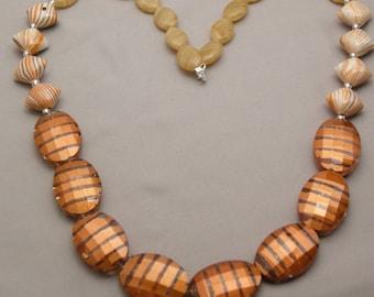 Pumpkin Latte Necklace and Earrings Set