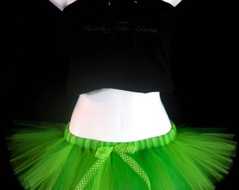 Mini TrAnCe SEWN Tulle Tutu Skirt - Micro Mini skirt - your choice of colors - for parties, bachelorette, roller derby, marathon, running