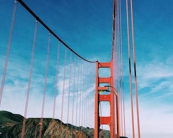 a stroll on the Golden Gate bridge