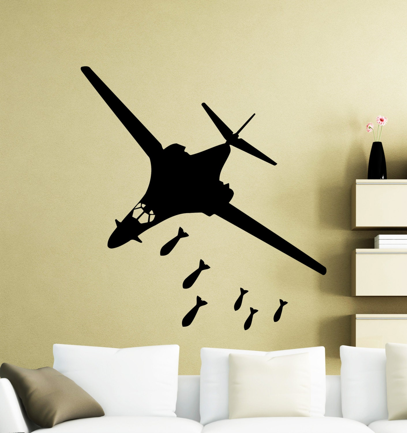 Outstanding Airplane Wall Decor Embellishment - The Wall Art ...