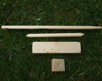 Bushcraft bow drill kit(fire starter)