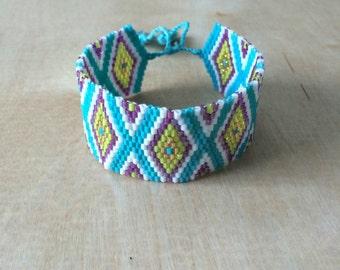 Boho Seed Bead Bracelet