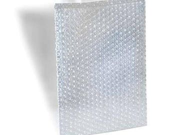 "10 -  Bubble Out Pouches Bags Wrap Cushioning Self Seal Clear 4"" x 5.5"""