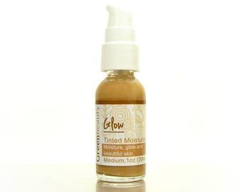 Tinted Moisturizer 1oz, Medium Shade, tinted face cream, tinted face moisturizer, face moisturizer, facial moisturizer, natural tinted cream