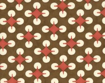 SALE 50% OFF 54 inch Brown Home on the Range Bandana for Moda Fabrics