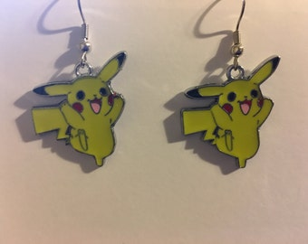 Pikachu Pokemon Earrings    B51