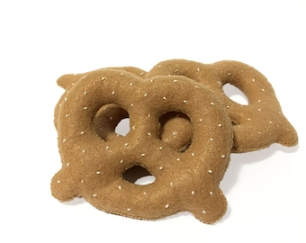 Soft Pretzel Cat Nip Cat Toy