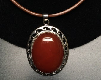 Canadian Agate Pendent