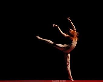 Dance / Ballet Print - 'Requiem For A Rose'