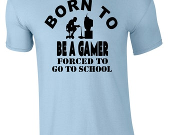 Born To Be A Gamer Children's T-Shirt