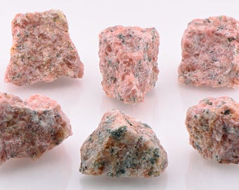 Strawberry Calcite Raw Rough Gemstone - Stone for Memory, Passion & Happiness