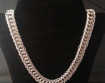 Half persian 4in1 Necklace - Chainmail jewelry - Stainless Steel - Waterproof
