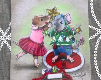 Rat Christmas Card (Singles)