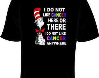 Dr. Seuss Cancer Shirt
