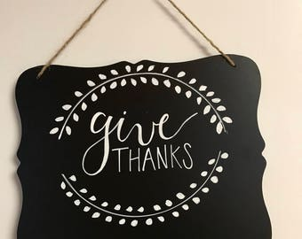 Give Thanks Holiday Board