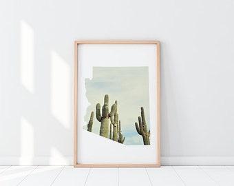 Arizona State Cacti | Printable