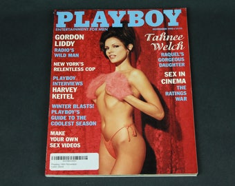 90's Playboy Novemeber 1995 Vintage Retro Art Collectible Memorabilia Hugh Hefner Adult Entertainment