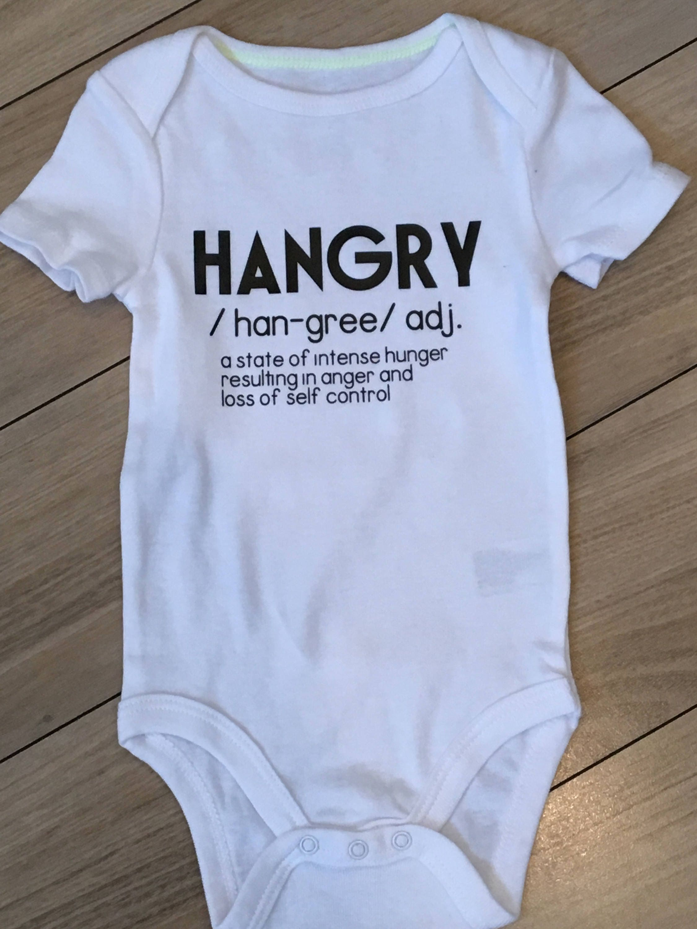 Hangry Baby Clothes Funny Toddler Shirt Baby Boy Clothes Baby