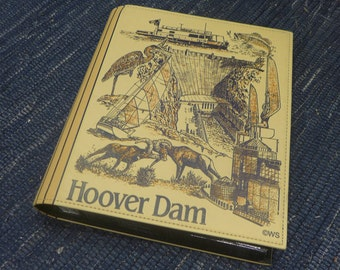 NOS Hoover Dam Photo Album Souvenir Book
