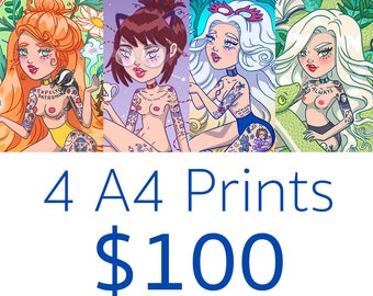4 x A4 Print Pack