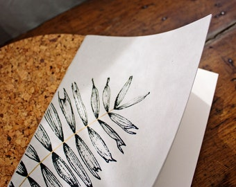 Sketch Booklet | Screen Printing | Fern