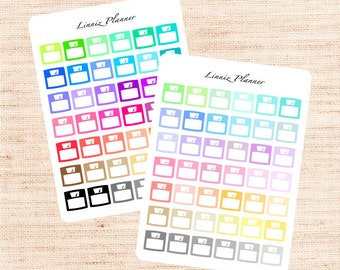 Scale Functional Basics (matte planner stickers, Erin Condren, Happy Planner)