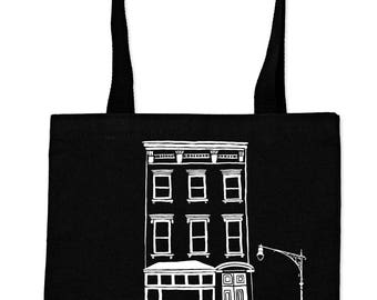 Brownstone Black and White Everyday Tote