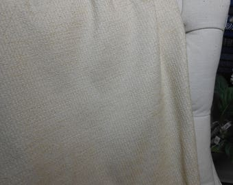 Ivory Textured Fabric, Sewing, Bedding, Home Decor