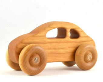 Personalized Car Toy - Choose Your Style - Eco Friendly and Heirloom Quality - Stocking Stuffer