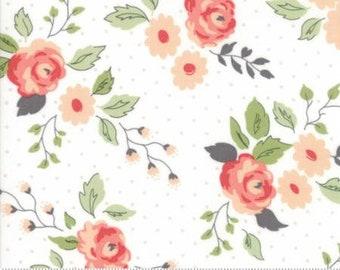Nest - Full Bloom in Eggshell by Lella Boutique for Moda 5060 11