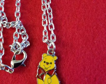 4.00 CLEARANCE  Cute pooh necklace
