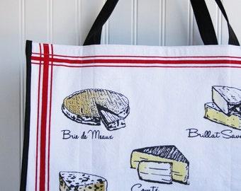 Cheese Farmers Market Bag - Gourmet Cheese - Marketing Bag