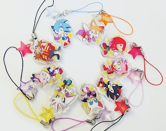 Sonic the Hedgehog All-Stars Charms