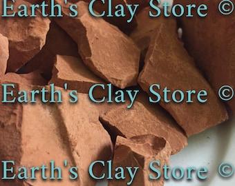 Natural, edible Red Clay Chunks