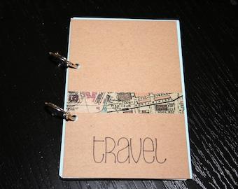 Travel Journal, Smash Book, Junk Journal, Memory Keeping, Travel Album, Travel, Travel Journal, Travelers Notebook, Travel Gift