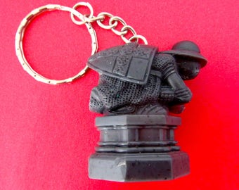The Black Pawn from Wizard's Chess Custom Keychain