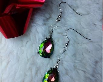 Colorful fun dangle earrings!