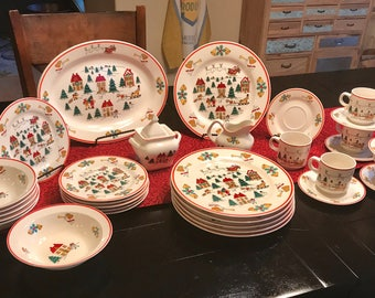 Vintage ... & Christmas china | Etsy