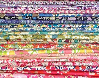 The Ultimate 80 Scrap Pack - Liberty Fabric Tana Lawn