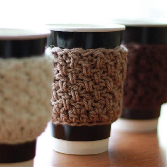 Free Crochet Pattern With Video Tutorial Crochet Cup Cozy Buy